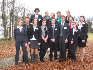 December 15th, LMU-Delegation at IsarMUN 2013 in Tutzing