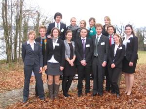 December 15th, LMU-Delegation at IsarMUN 2013 in Tutzing