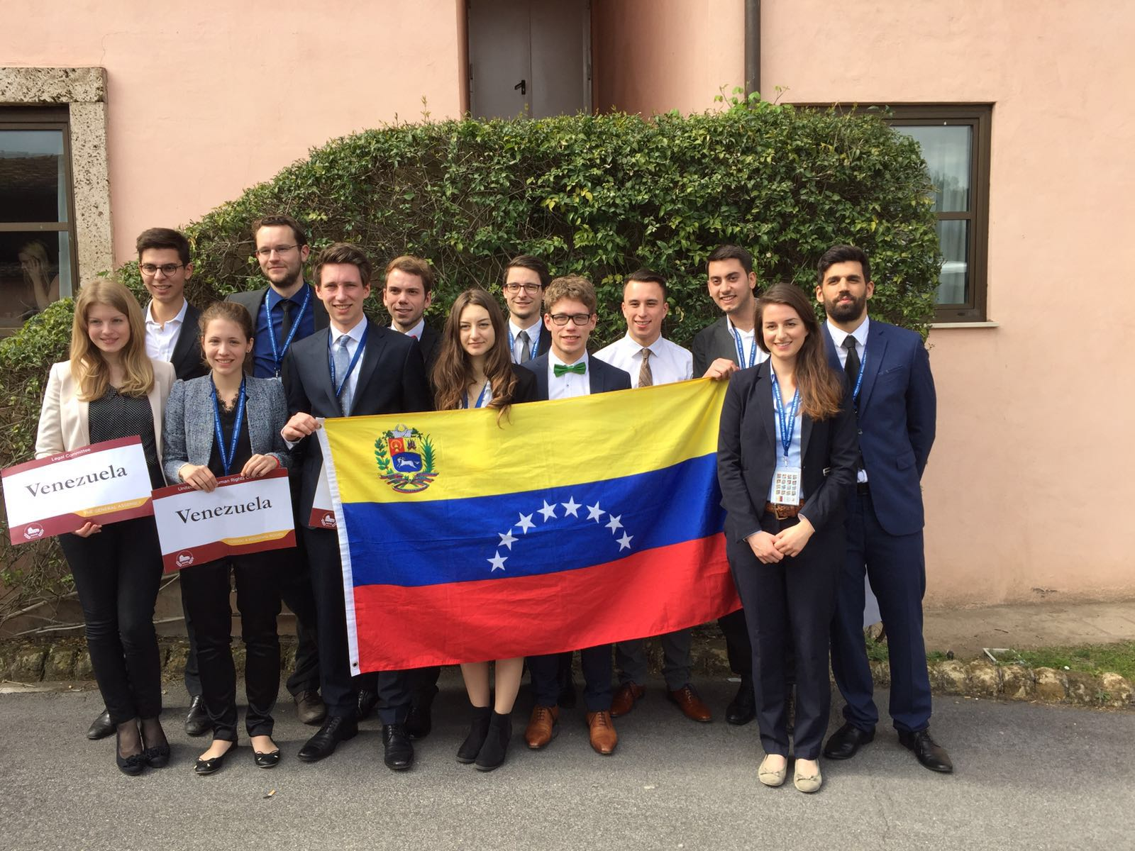 The Delegation of the Bolivarian Republic of Venezuela